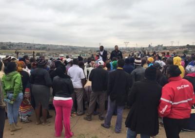 Kaalfontein Site Meeting